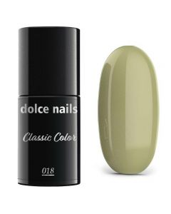 DOLCE NAILS Classic Color 018 lakier hybrydowy 6ml