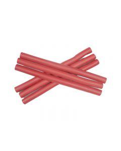 PONIKS Papiloty 12mm (długość 24cm) czerwone