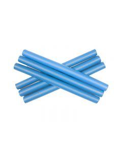 PONIKS Papiloty 14mm (długość 24cm) niebieskie