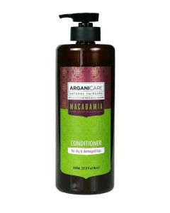 ARGANICARE Macadamia odżywka nawilżająca do włosów suchych 1000ml