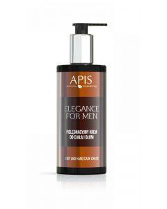 APIS Elegance For Men Pielęgnacyjny krem do ciała i dłoni 300ml