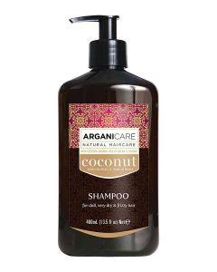 ARGANICARE Coconut szampon do włosów suchych 400ml