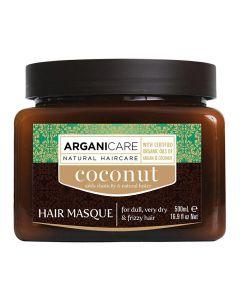 ARGANICARE Coconut do włosów suchych 500ml