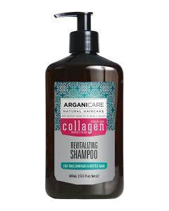 ARGANICARE Collagen szampon do włosów cienkich 400ml