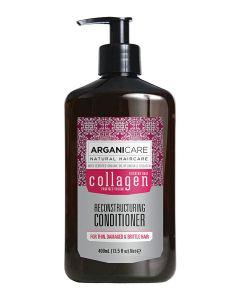ARGANICARE Collagen odżywka do włosów cienkich 400ml