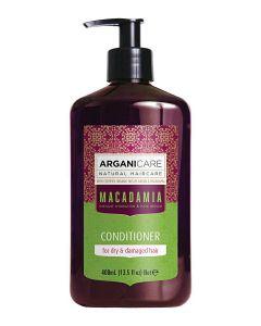 ARGANICARE Macadamia odżywka nawilżająca do włosów suchych 400ml