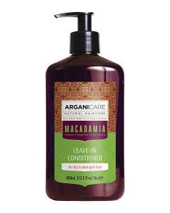 ARGANICARE Macadamia odżywka bez spłukiwania do włosów suchych 400ml