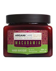 ARGANICARE Macadamia maska nawilżająca do włosów suchych 500ml