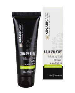 ARGANICARE Collagen Boost Exfoliating Scrub Gommage peeling 80ml