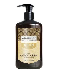 ARGANICARE Castor Oil odżywka stymulująca porost włosów 400ml