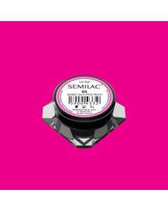 SEMILAC 05 Spider gum Pink Neon żel do zdobień 5g