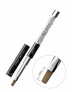 SEMILAC Gel Brush N4 flat Pędzel do żelu