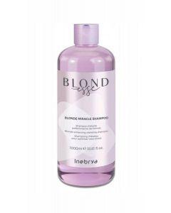 INEBRYA BLONDESSE Szampon do włosów blond 1000ml