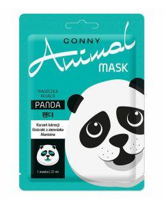 CONNY Animal PANDA koreańska maseczka na twarz 1szt.