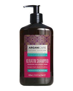 ARGANICARE Keratin szampon z keratyną 400ml