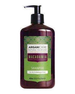 ARGANICARE Macadamia szampon do włosów suchych 400ml