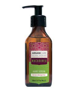 ARGANICARE Macadamia serum nawilżające do włosów suchych 100ml